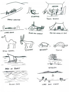 Scenes and Animals